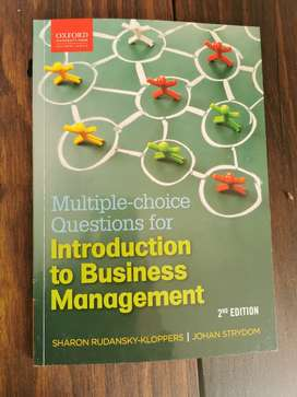 MC Introduction to Business Management