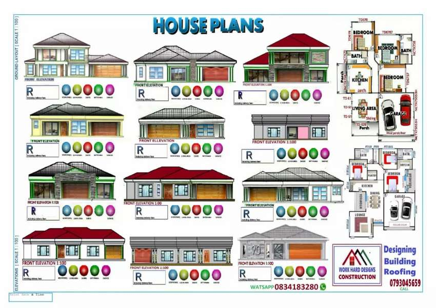 House plan design and building 0