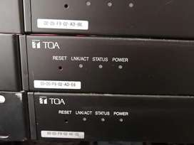 TOA N-8400RS Sub Station Interface Units x 5