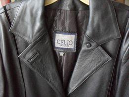 Продам пальто плащ женский кожаный.Размер 50-52.