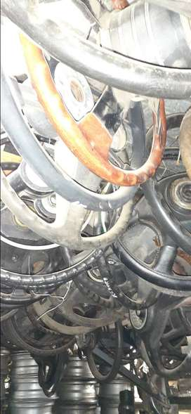 Steering wheels for various cars available.