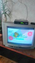 Продам телевизор+ новый тюнер