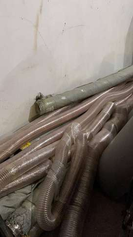 Industrial flexible ducting pipe