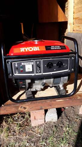 Ryobie generator.RG2700.Been used only for +_4 hours