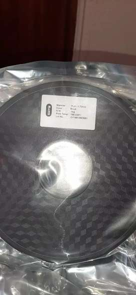 3D printer PLA Filament Black