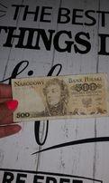 Banknot 500 z 1982r >> seria FK! Polecam!