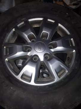 Ford Ranger XLS rims with tires