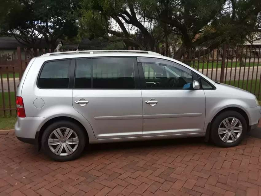 Vw touran  in a very good condition 0
