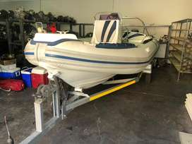 2008 rubber duck infanta 2x50hp