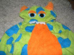 3-4г Пижама слип Furby Ферби человечек костюм для сна кигуруми меховое