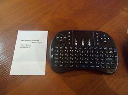Клавиатура портативная с тачпадом