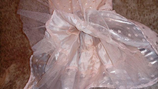 Śliczna sukienka 74 cm 6-9 m Oborniki - image 2
