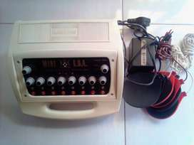 Dr Hawkins Slimming Machine with 8 Pads and Cables.