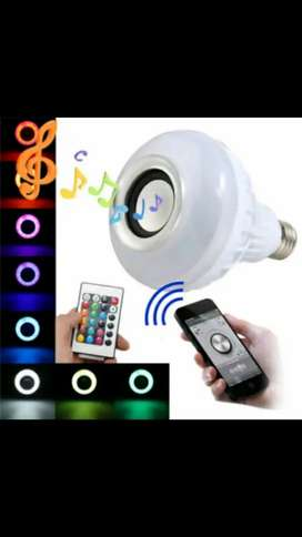 TECH FREAKZ - Multicolored led speaker bulb