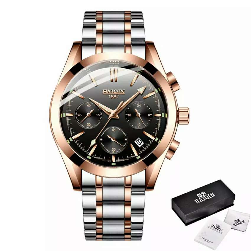 Men Business Calendar Watch 0