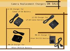 camera chargers