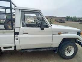 1997 Toyota Land Cruiser with Canopy and Railings