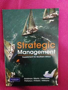 Textbook - Strategic Management - Supplement for Southern Africa