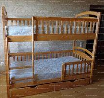 Двухъярусная кровать Карина с дерева, выгодное предложение