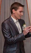 Мужской нарядный костюм Luca Toni темно-серого цвета (р. 50)