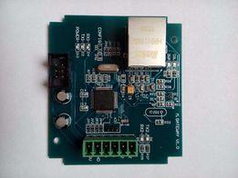 Модбас преобразователь TCP/IP в RS485. Modbus TCP/IP gateway.