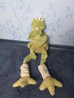 Мягкая игрушка - лягушка с лягушонком