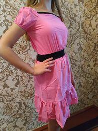 "Платье ""Рюш"" размер S(40-42)"