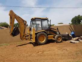 Cat 428c TLB Stripping for spares