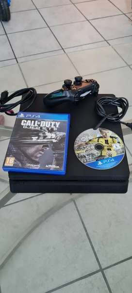 Ps4 slm 500g one controller 2 games
