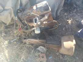 Engine and gearbox ford Cortina 2l