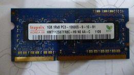 Продам оперативную память для ноутбука SODIMM DDR-3 1Gb