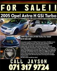Image of 2005 Opel Astra H GSi Turbo For Sale!!