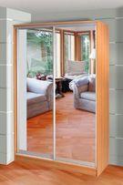 Раздвижные двери в шкаф/нишу • Производство • Установка • Наладка