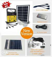solar kit with radio and mp3 player 0