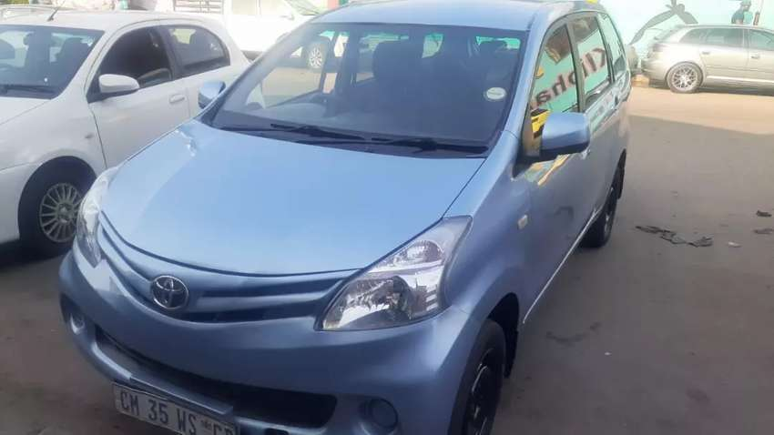 Toyota Avanza 1.3 sx seven seaters available now