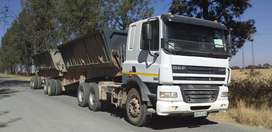 Daf CF 85 - 410 + Side Tipper