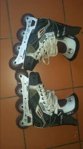 Pro skates bauer made in usa