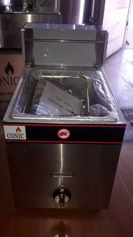 Single gas chips fryers for sale from