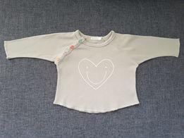 Bluzeczka niemowlęca Organic ZOO ekobawełna rozm. 6-12 M 68 - 74 - 80