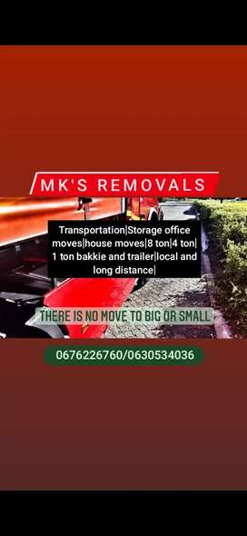 Mk's removals