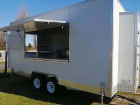 Food Truck with trailer with stove Immaculate condition
