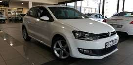 2014 Polo 1.6 Comfortline 5Door Manual White
