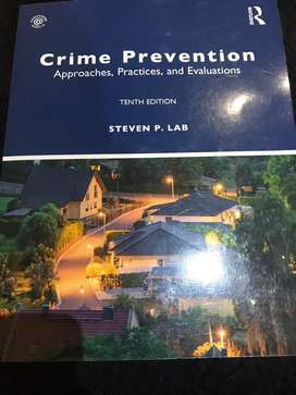 Crime Prevention, Approaches, Practices and Evaluations 19e
