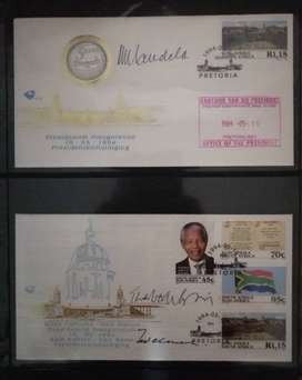 3 x Original Signed Presidents - Read description