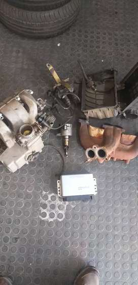 Toyota 4y 2.2 liter complete fuel injection +computer