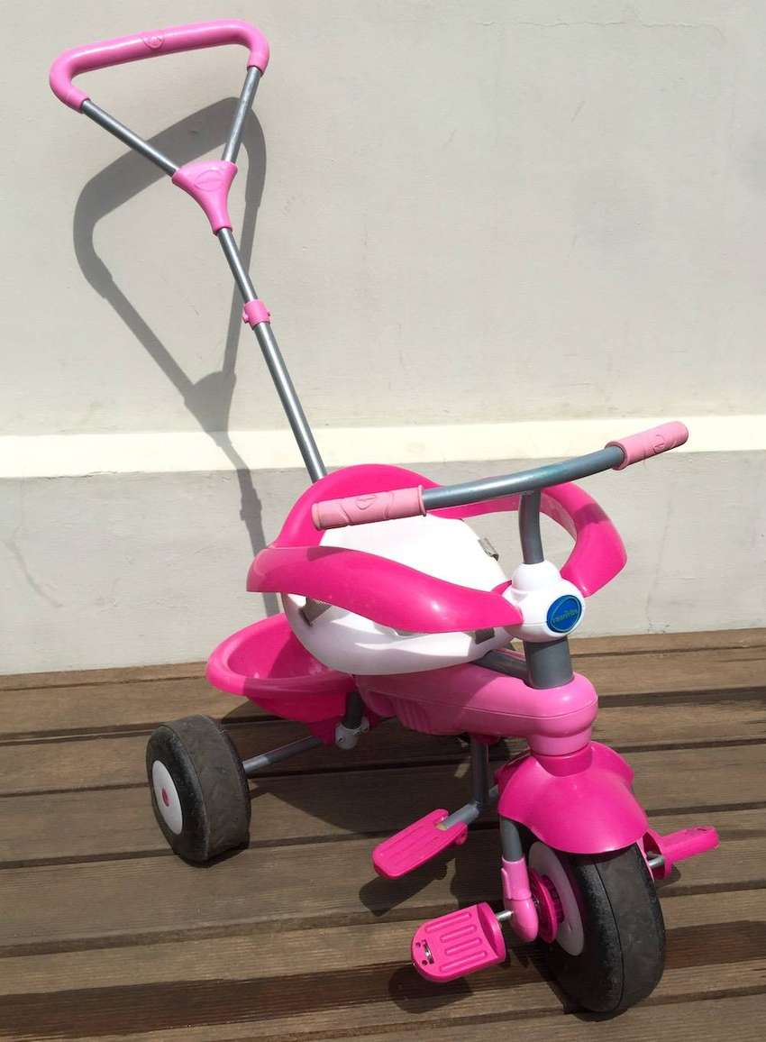 Kids Pink SmarTrike push Trike bicycle For Sale 0