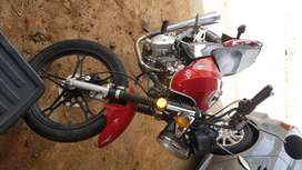 RR bike with SENKE engine in good condition