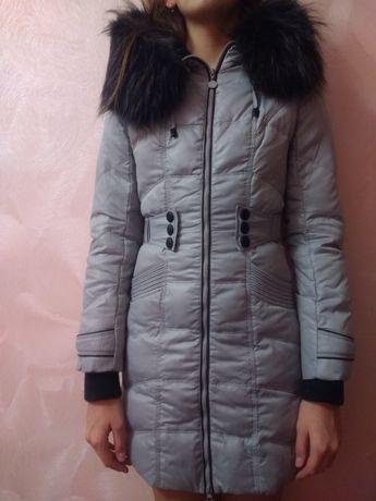 Пуховик на девочку,рост 152-164 Киев - изображение 1