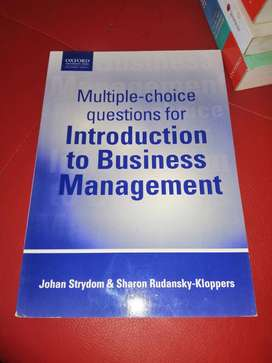 Multiple choice questions introduction to Businesse management