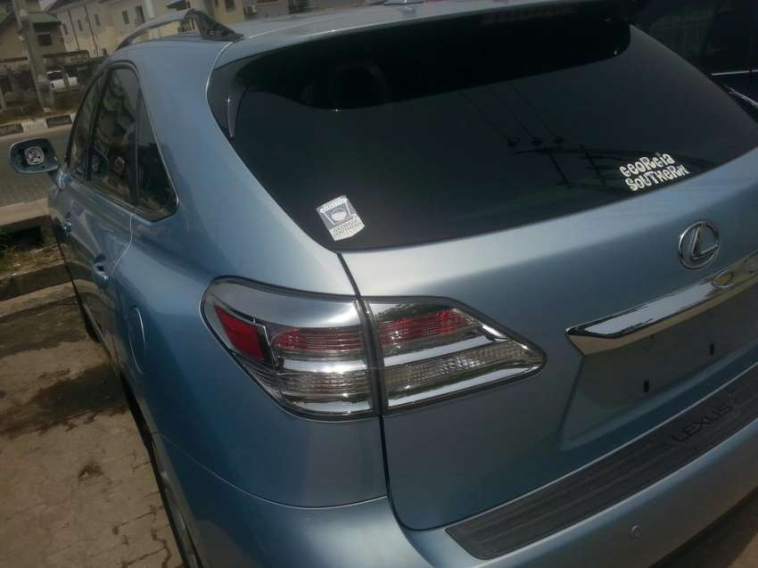 Tincan cleared tokunbo lexus rx350 011 fuloption 0